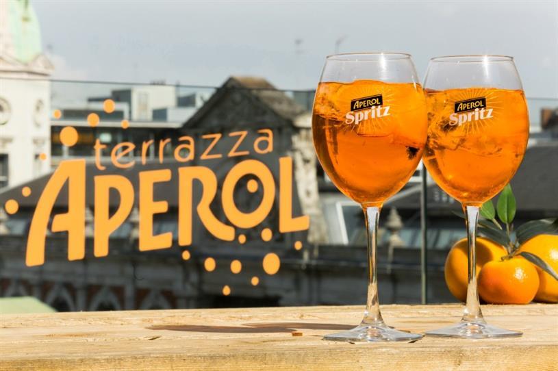 Aperol Spritz Terrazza Launches In London S Smithfield