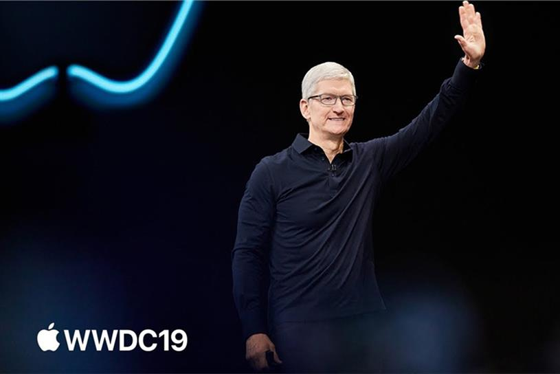 WWDC: Cook speaking at the event