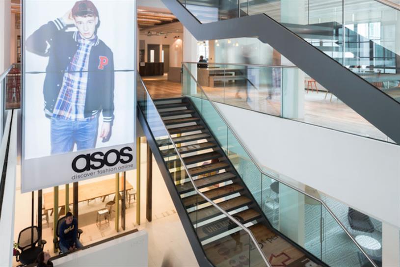 Asos: head office