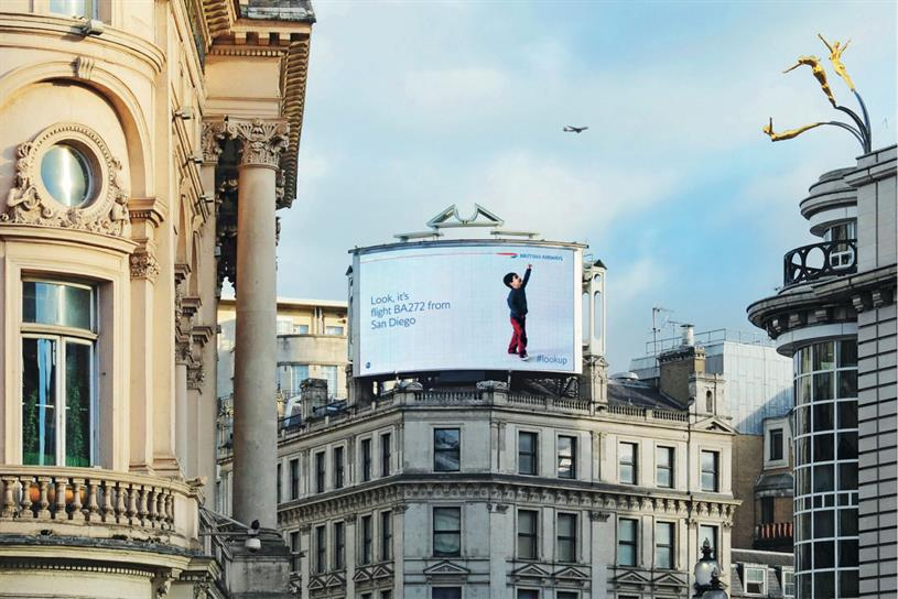 BA: OgilvyOne created award-winning 'magic of flying' work