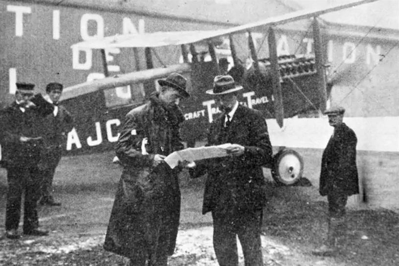 Aircraft Transport and Travel: the first of several companies that combined to become BA