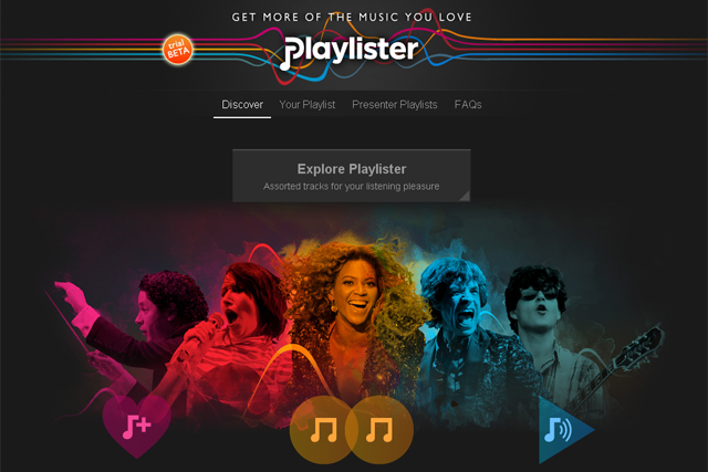 BBC Playlister: music service goes live