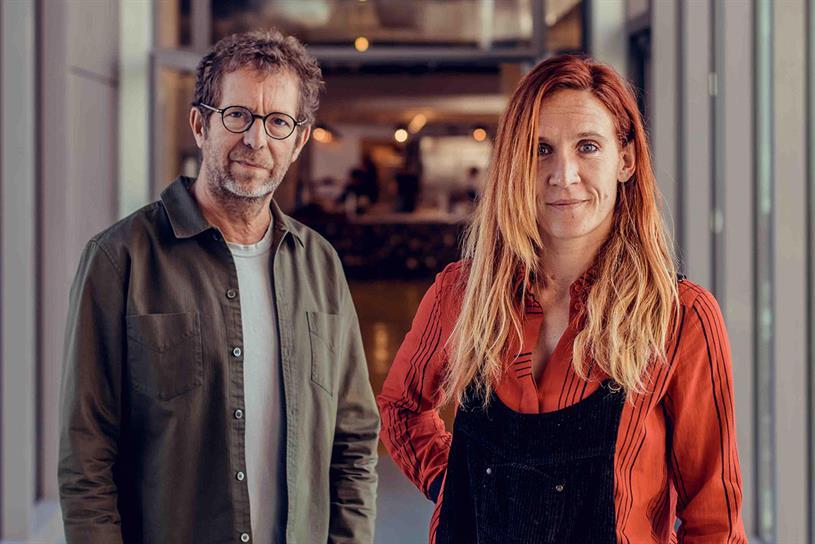 BETC's Rémi Babinet and Clarisse Lacarrau