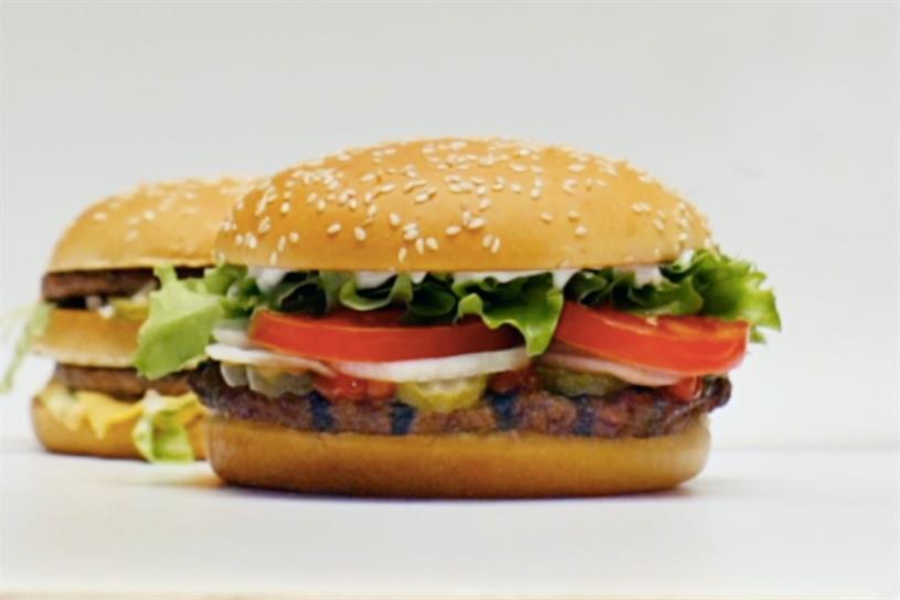 Burger King: Big Mac lurks behind Whopper… all year