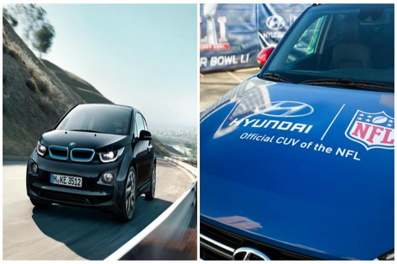 Automotive giants BMW and Hyundai