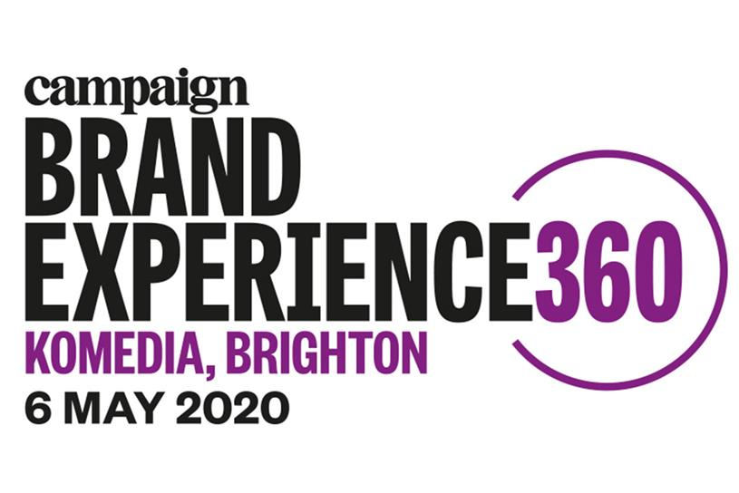 Brand Experience 360: event will take place in Brighton