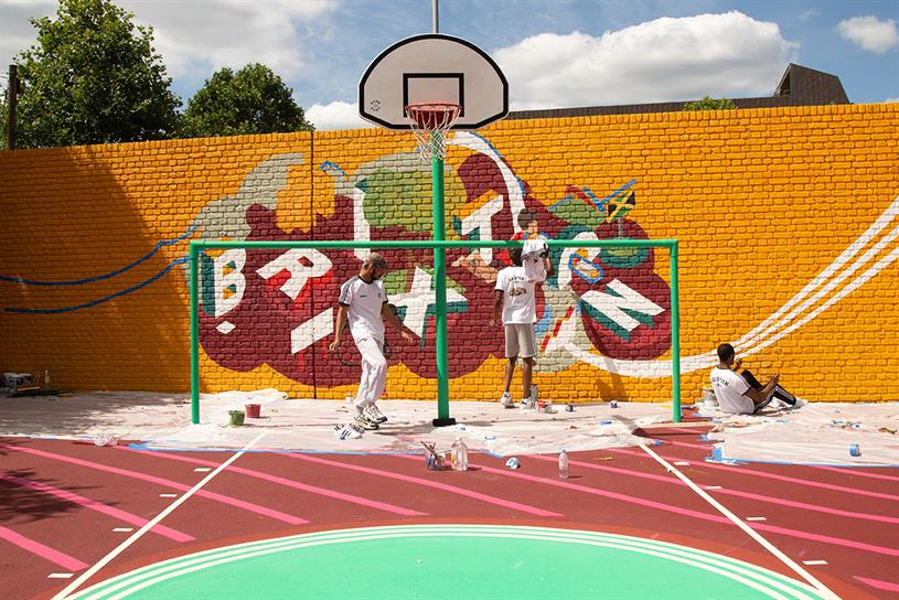Foot Locker: Brixton artwork inspired by local community