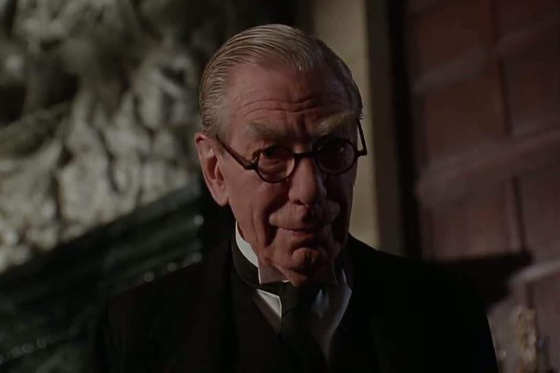 Alfred Pennyworth: Batman's butler, as played by Michael Gough