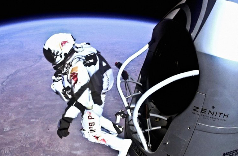 Felix Baumgartner: leap from space