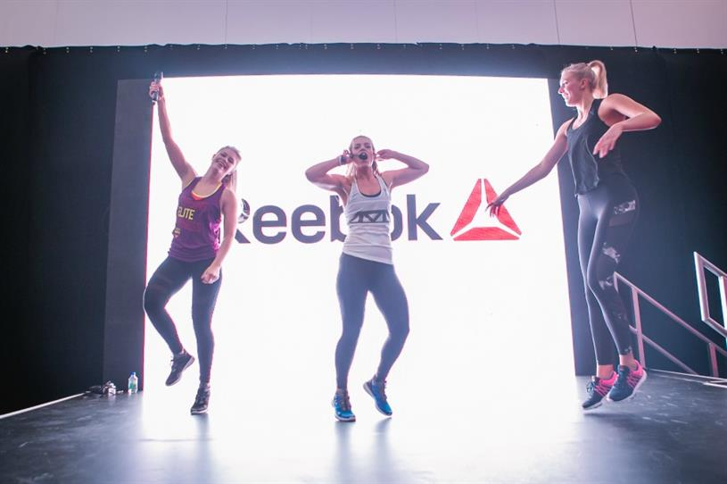 Reebok: sponsoring and activating at next year's Be:Fit London