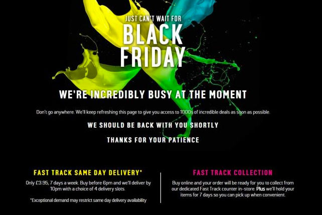 Breakfast Briefing Argos Site Crashes In Black Friday Frenzy Lord S Prayer Ad Ban Yahoo Ad Blocking Campaign Us