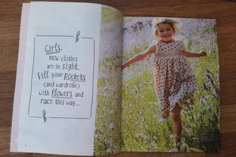 Boden: ad in catalogue (pic credit: Sam Williams)