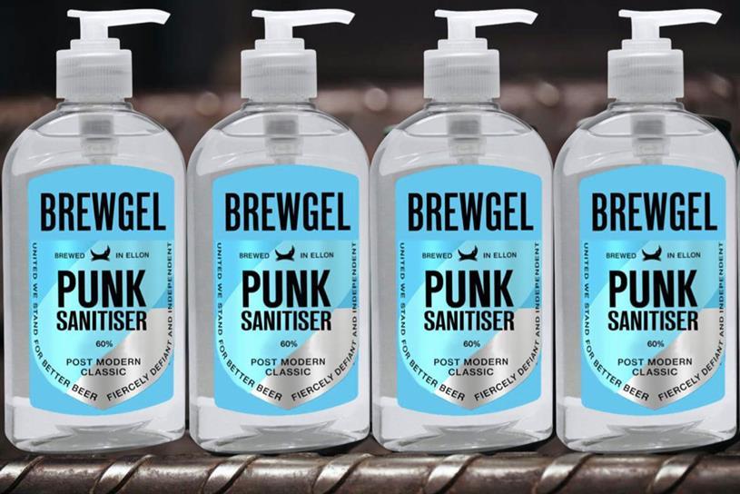 BrewDog: started making hand sanitiser amid shortages