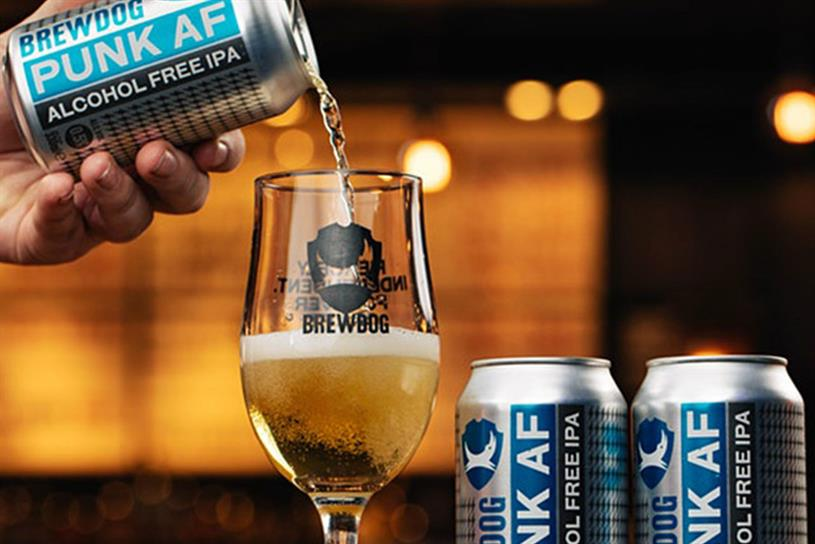 BrewDog: showcased alcohol-free drinks at festival