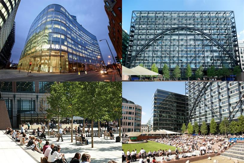 British Land: owns and manages properties in London's Bishopsgate