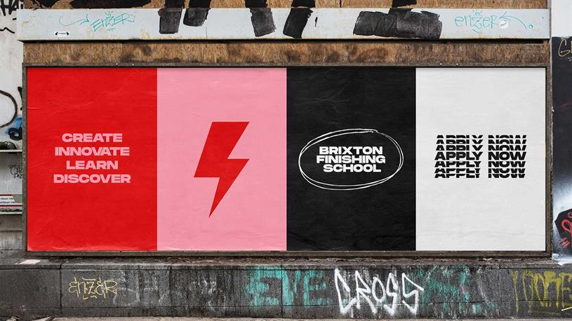 Brixton Finishing School: new visual identity and campaign