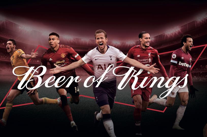 Budweiser: brand is sponsoring Premier League