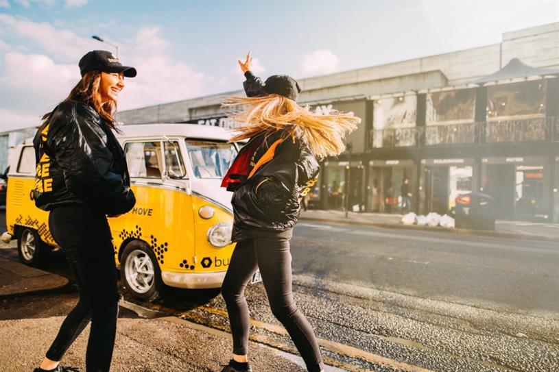 Bumble launches 'Bumble Bus' UK roadshow