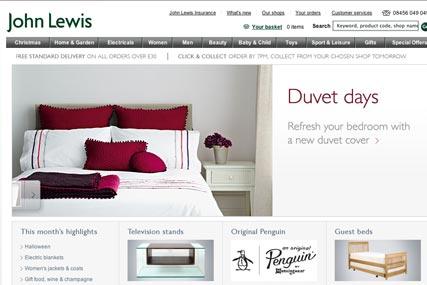 John Lewis beats M&S as UK's best high-street website