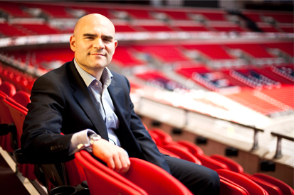 Simon Freedman: leaving the FA for O2