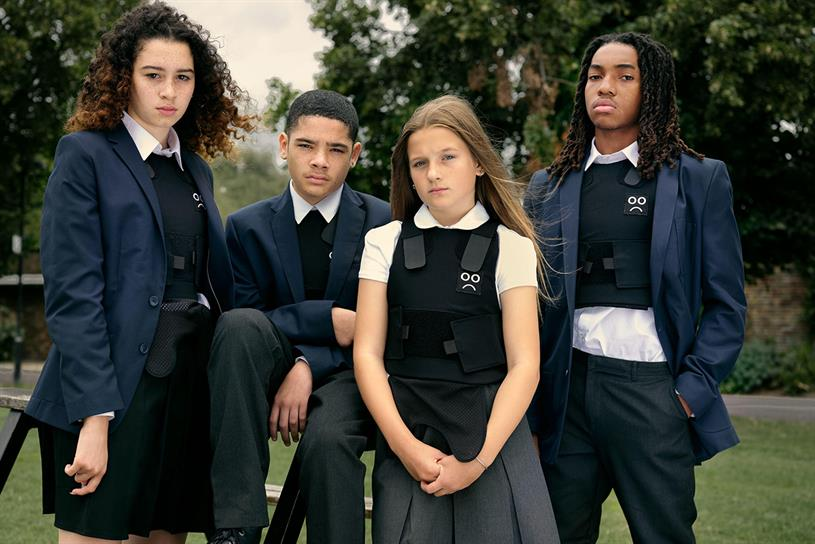 The Children's Society: stab vests on sale