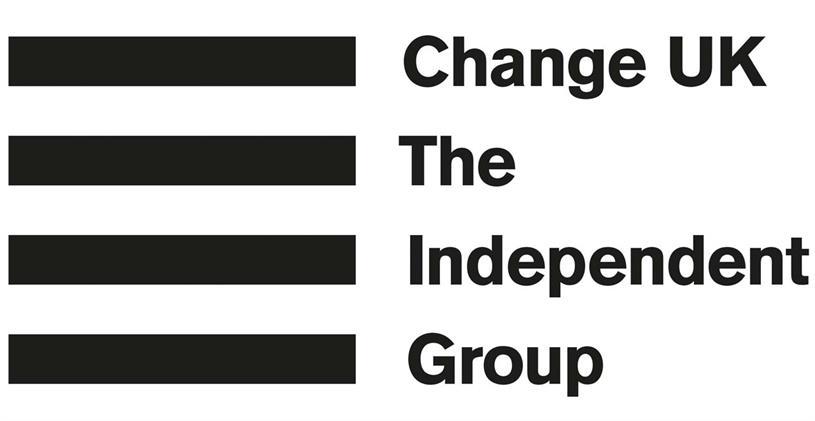 Change UK: new logo by The & Partnership