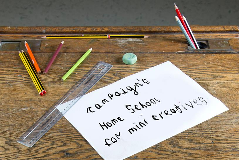 Campaign Home School: theme of weird and bizarre this week