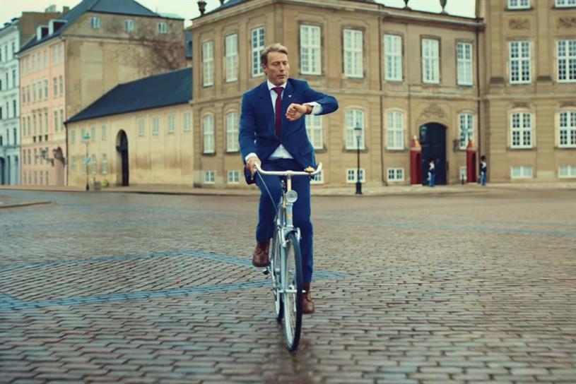 Carlsberg: latest campaign starred Mads Mikkelsen