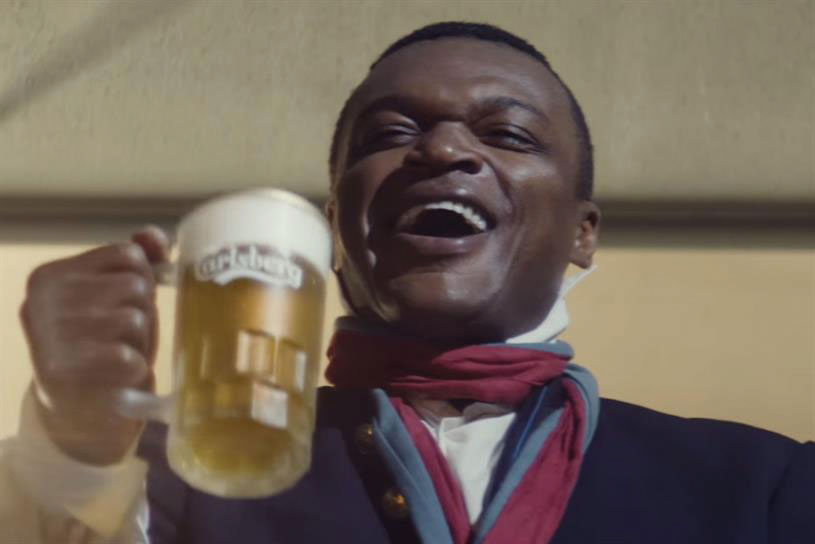 Carlsberg, the official beer sponsor, has released 'If Carlsberg did revolutions'