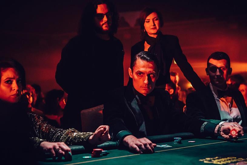 Casino Royale: Bond film is inspiration behind current production (image: Luke Dyson)