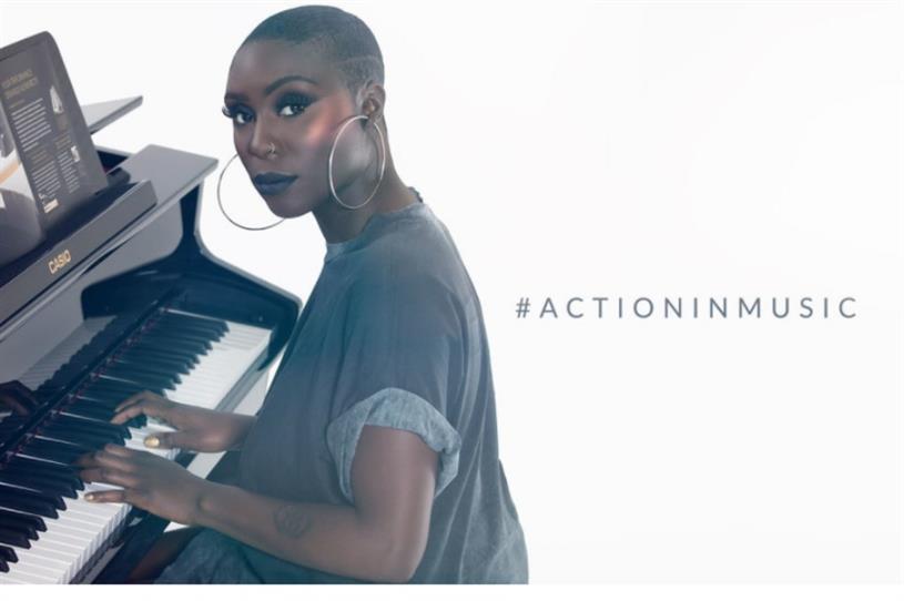 Casio host pop up showcasing Action in Music initiative