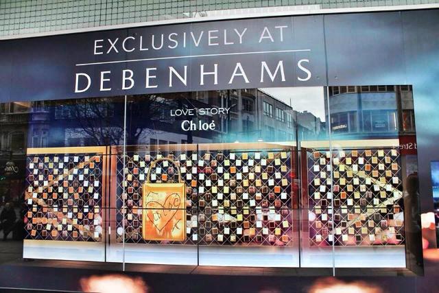 Debenhams: runs Chloé promotion