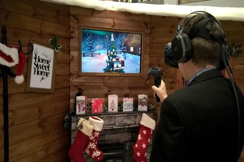 VR experience at Intu Victoria Centre, Nottingham