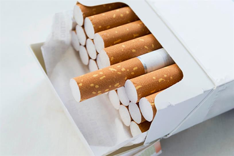 Cigarette advertising: banned in many countries