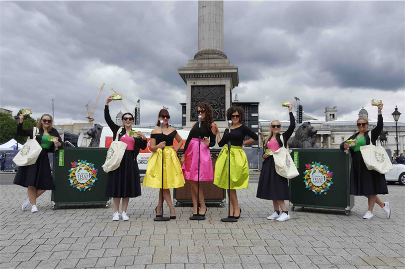 Clipper Teas stages street concerts