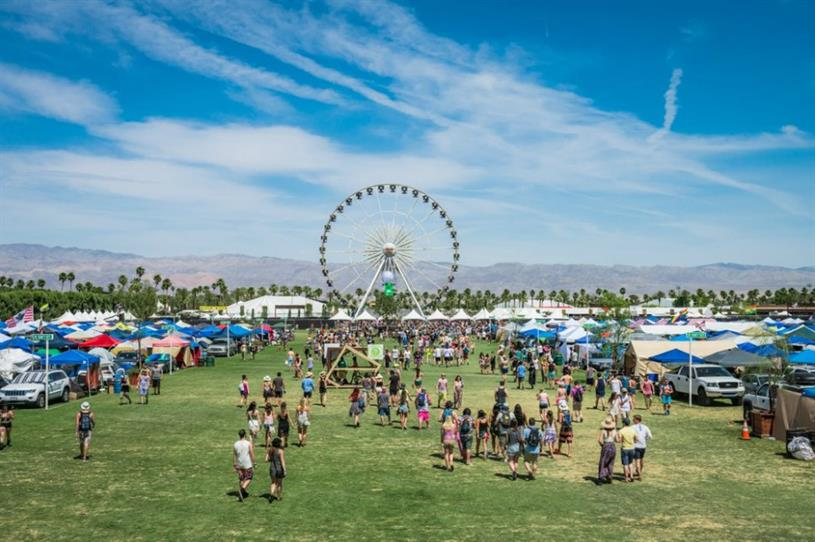 Coachella is once again proving a hot spot for brands