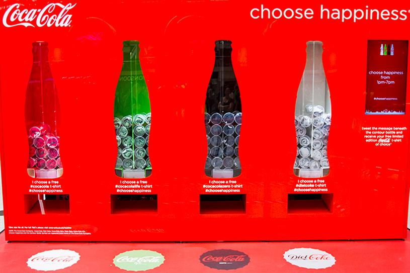 Coca-Cola's #ChooseHappiness: one of the best brand campaigns on Twitter last year