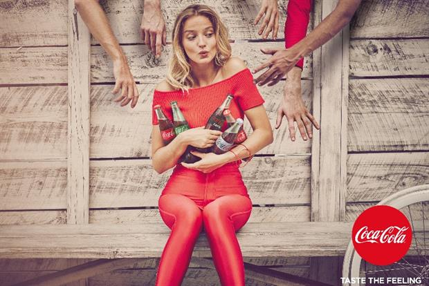 Coca-Cola's 'Taste the feeling' campaign