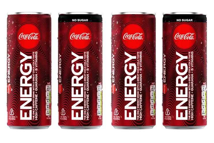 Coca-Cola Energy: not available in the US