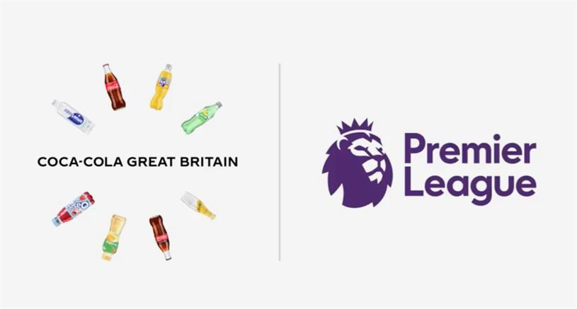 Coca-Cola's first-ever cross-portfolio sponsorship deal is with the Premier League