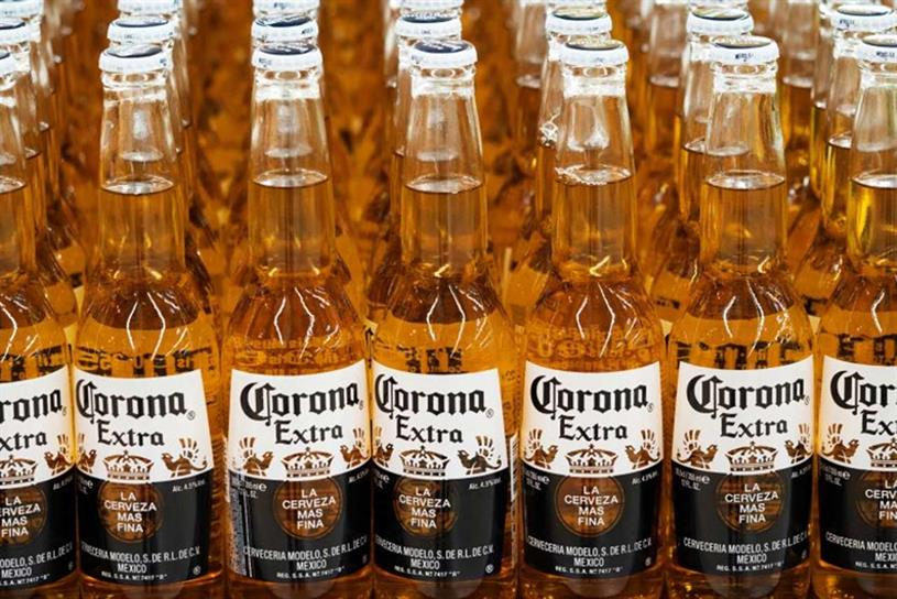 Corona: owned by AB InBev