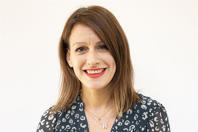Helen James: leads Creative Equals/Business alongside Hanan