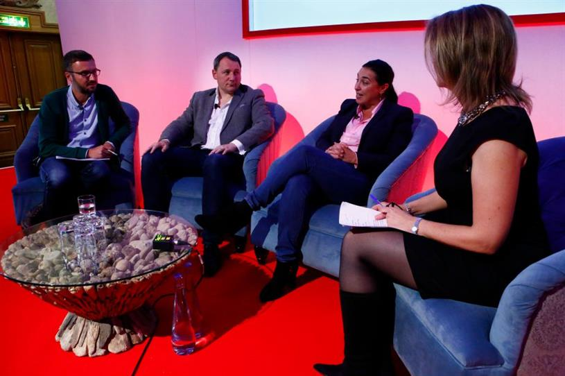 The panel session discussed the challenges of amplifying events