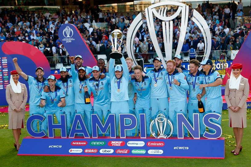 England: beat New Zealand in Cricket World Cup final