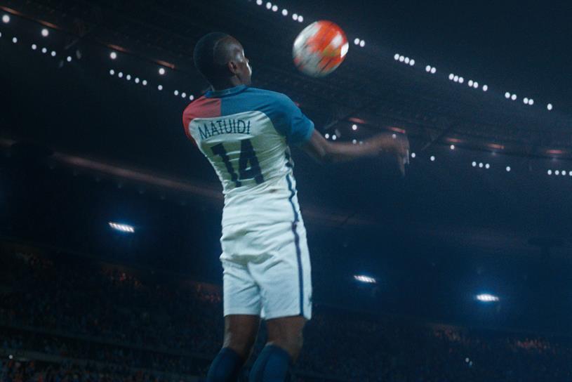 Nike: campaign last year featured French footballer Blaise Matuidi