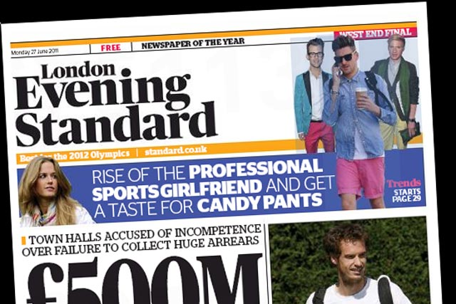 London Evening Standard: parent company expected to reveal its losses have halved