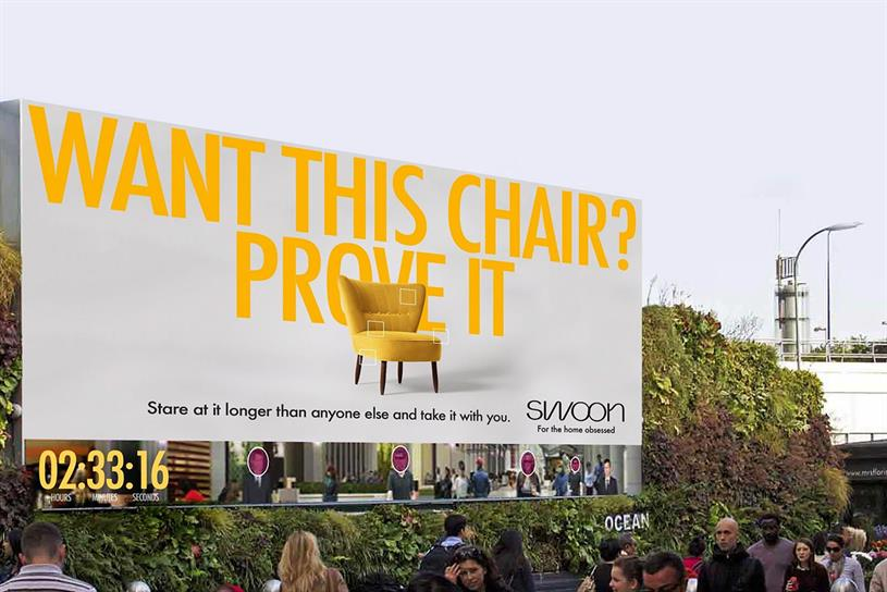 BBH's winning ad for furniture retailer Swoon