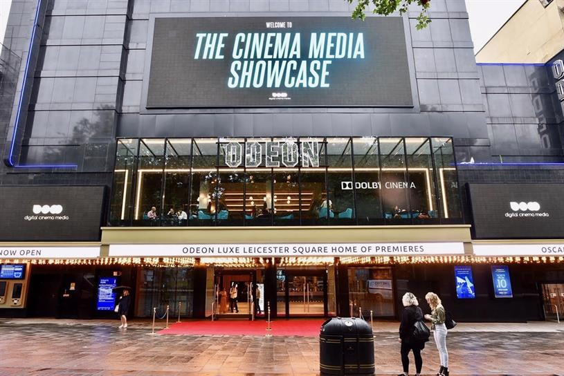 DCM: hosted Cinema Media Showcase today (18 July)