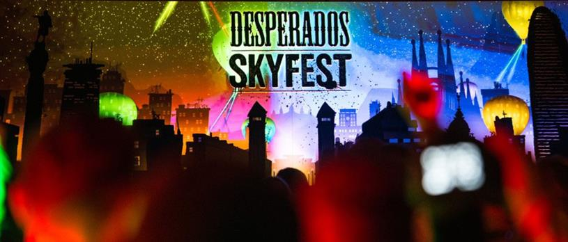Desperados Became A Credible Voice In Party Culture With Hot Air Balloons And Light Shows Campaign Us