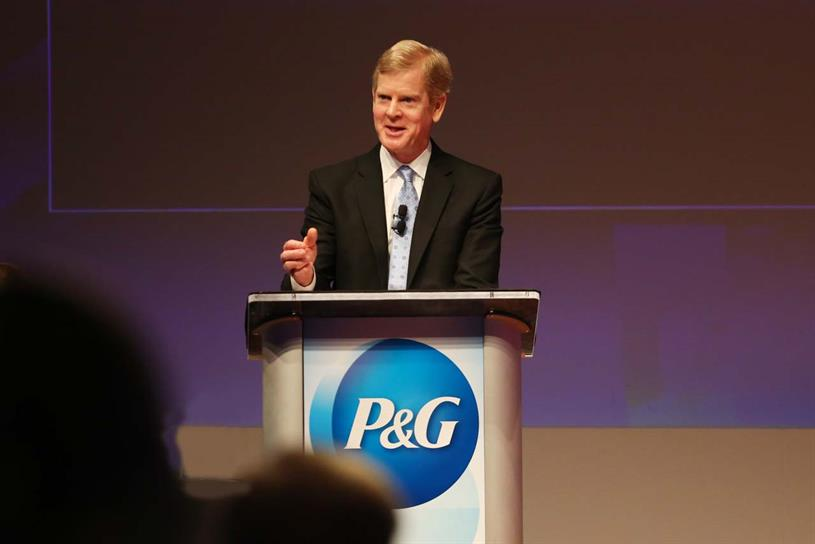 P&G chief executive David Taylor